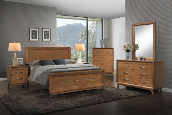 Łóżko HARRODS 160x200 to piękne łóżko, które doskonale będzie wyglądać w każdej sypialni, wykonane jest z drewna oraz płyty MDF w kolorze dębu.