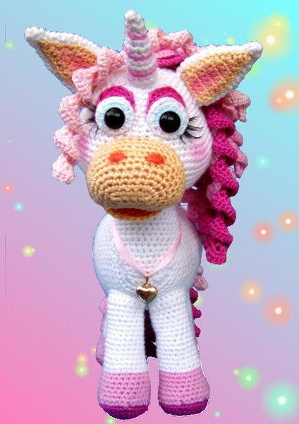 Häkelanleitungen Häkelanleitungpdfmaggy Magic Einhorn Unicorn