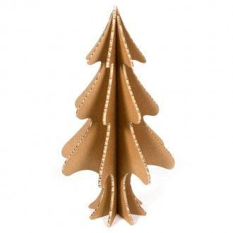ABETO NAVIDAD CARTÓN NIDO ABEJA Árbol de Navidad, diseño exclusivo de esta web, de cartón nido de abeja acabado kraft con pie, de ocho caras y en 2 medidas. Perfecto para decorar con todo tipo de pinturas, collage, pan de oro, purpurina, arenas de colores, rotuladores, ceras de colores, esprays, ... #MWMaterialsWorld #ChristmasTree #ArbolNavidad