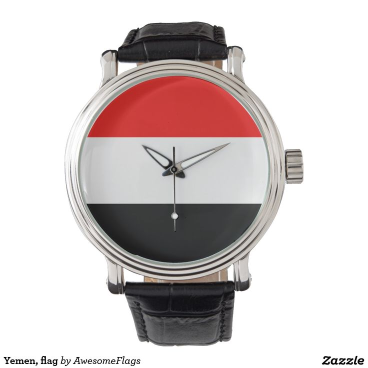 Yemen, flag watches