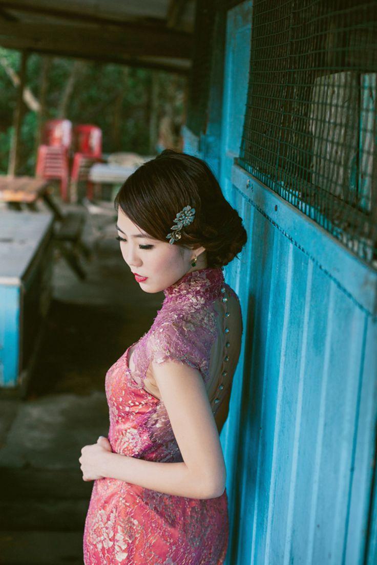 Ok wedding gallery the beauty dress of cheongsam 2013 - The Wedding Scoop