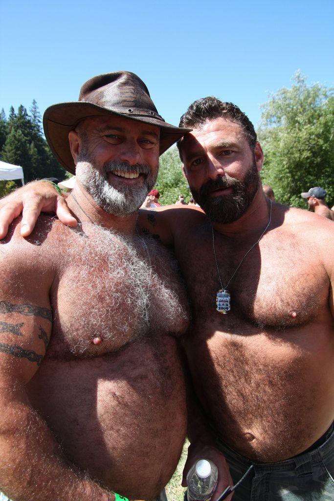 Bare bear hairy