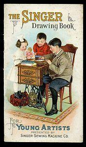 vintage singer sewing machine art - Google Search