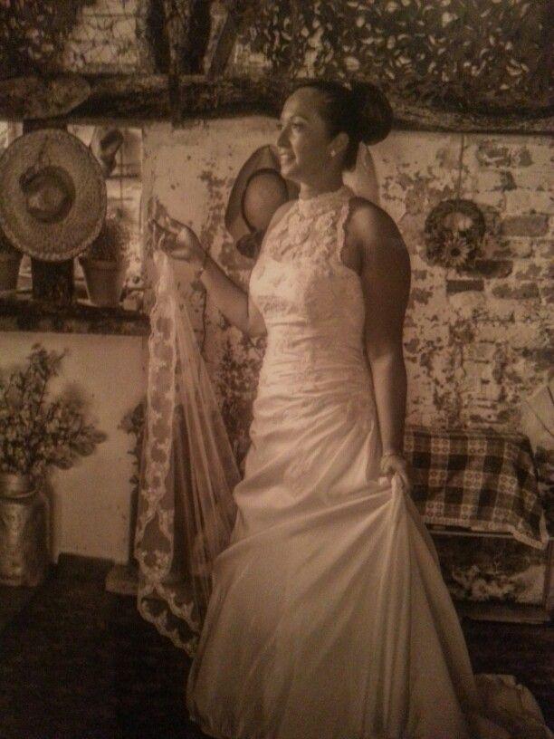 Hochzeit Vintage Sepia