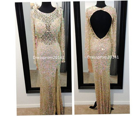 Yellow prom dressesBridal gownsMother's by DressProm20141 on Etsy, $146.00