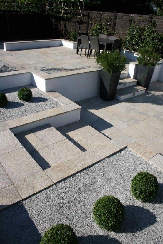Ideas de terrazas minimalistas 9