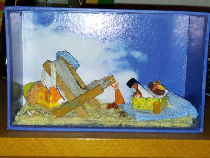 pic-nic sulla spiaggia