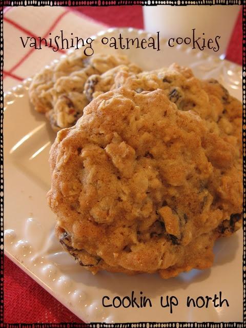 cookin' up north: Vanishing Oatmeal Cookies