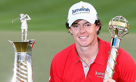 rory Mcilroy | Rory McIlroy with the Race To Dubai and DP World Tour Championship ...