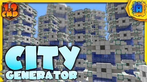 City Generator Command Block helps you generate big cities in an instant with only one command. Command Block Showcase: How to install: To add any one-command creation to your world, first give yourself a command block with /give @p minecraft:command_block. Next, place it and paste the following command inside it. City Generator Command: For Minecraft…