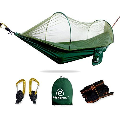 Mosquito Hammock, PACKGOUT Camping Gear Sleeping Hammock with Bug Net and Lightweight Portable Hammock for Travel Hiking Outdoor. For product info go to:  https://www.caraccessoriesonlinemarket.com/mosquito-hammock-packgout-camping-gear-sleeping-hammock-with-bug-net-and-lightweight-portable-hammock-for-travel-hiking-outdoor/