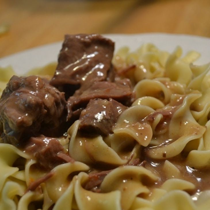 Easy Beef and Gravy Recipe Main Dishes with beef roast, beef shoulder, beef broth, italian salad dressing, flour