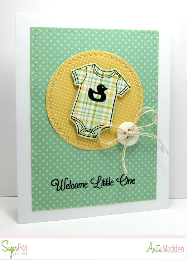 Just A Pigment Of My Imagination: SugarPea Designs - Welcome Little One