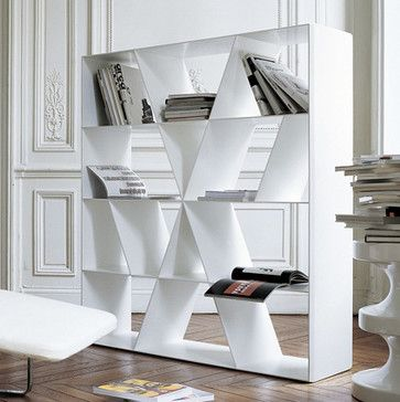 B Italia Shelf X Extra-Large Bookcase - contemporary - bookcases cabinets  and computer armoires