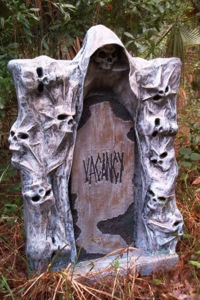 this thread has turned out to be a great resource for all of us who want to create their own halloween tombstone props there is so much visu - Halloween Tombstone Decorations