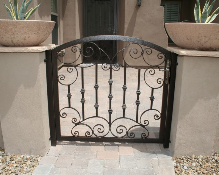 75 Best Images About Wrought Iron Door Gates On Pinterest