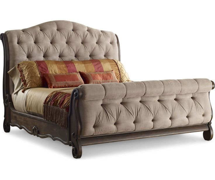 Casa Veneto Upholstered Sleigh Bed   American Home Furniture and Mattress    Albuquerque  Santa Fe. 25  best ideas about American Home Furniture on Pinterest   Add to