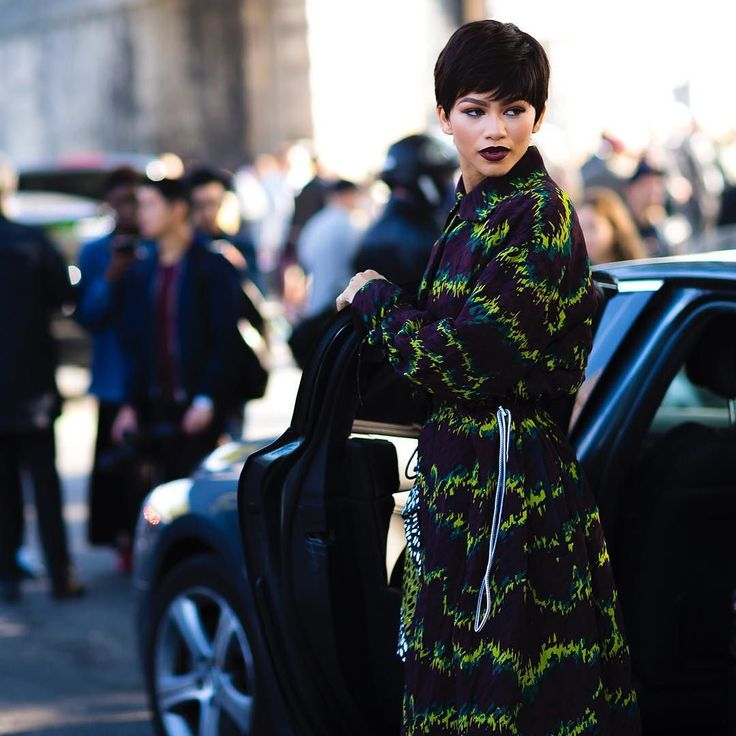 ZENDAYA. with @Zendaya wearing @Kenzo during #PFW #Women #SS16 now online on:  http://ift.tt/HwTVqf  #Jaiperdumaveste #JPMV by #NabileQuenum #StreetStyle #Style #Fashion #FashionWeek #Mode #Moda #Zendaya #RNB #Woman #Paris #France #NoFilter by jaiperdumaveste