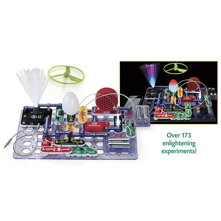 Snap Circuits Light Electronic Science Kit Educational Toys Planet