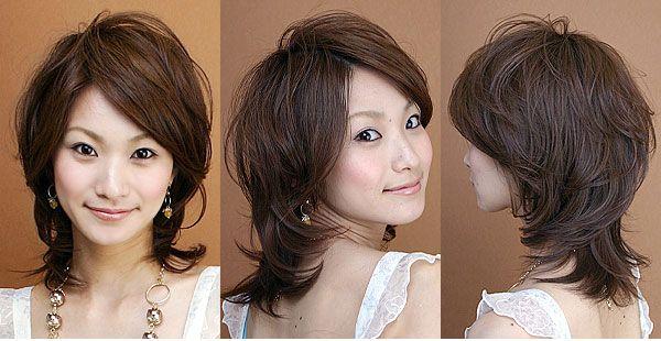 Inspirasi Gaya Rambut Medium Wanita Jepang: Gaya Rambut Medium Airy