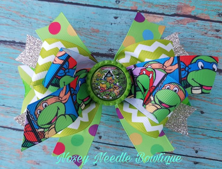 Ninja Turtles hair bow, ninja turtles birthday party, ninja turtles birthday party ideas, ninja turtles decorations, ninja turtles invitations, ninja turtles tutu, ninja turtles outfit, teenage mutant ninja turtles, teenage mutant ninja turtles birthday party ideas, teenage mutant ninja turtles outfit