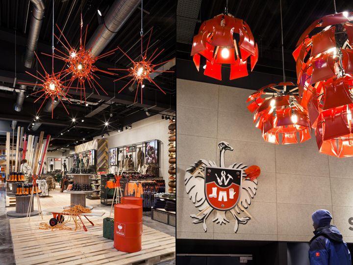 Дизайн магазина спецодежды марки Еngelbert-strauss