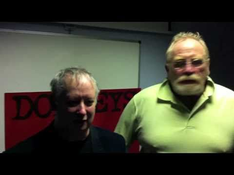 James Cosmo, Kate Dickie and Brian Pettifer discuss Donkeys with ReelScotland - YouTube