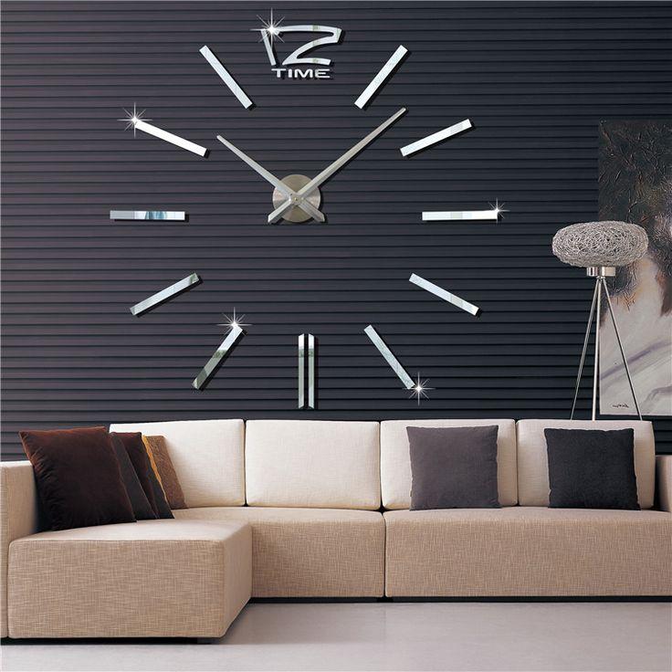 Ένα+ρολόι+με+πρωτότυπο+Design+για+το+χώρο+σας,+όπου+μπορείτε+να+το+φτιάξετε+μόνοι+σας+ανάλογα+με+τον+διαθέσιμο+χώρο+που+έχετε+στον+τοίχο+σας.  …