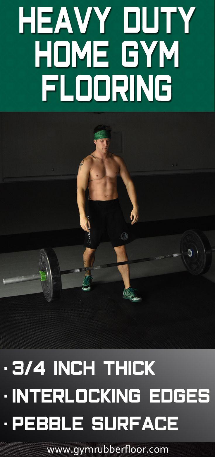 3 4 Inch 2x2 Ft Rubber Gym Horse Stalls Tiles Home Gym Flooring Gym Flooring Gym