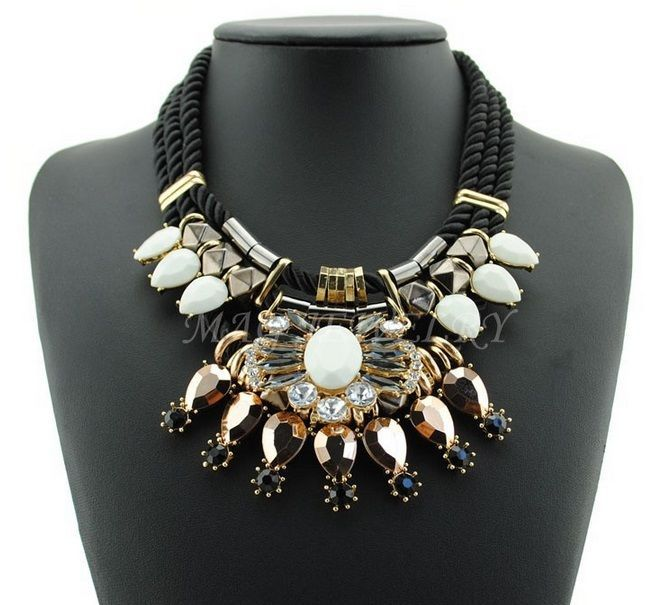 8 best Statement Necklaces images on Pinterest Fashion jewelry