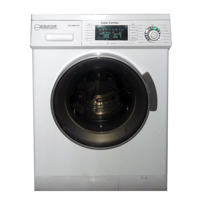 Equator Advanced Appliances EZ4000CV-W White Super Combo Washer-Dryer