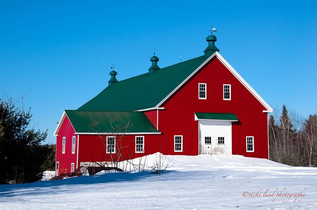 New england red barn new england pinterest for New england barns for sale