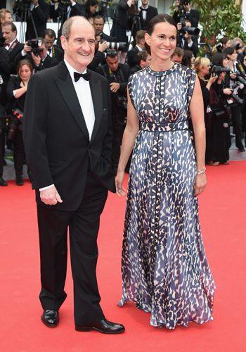 Pierre Lescure et Aurelie Filippetti #Cannes2014