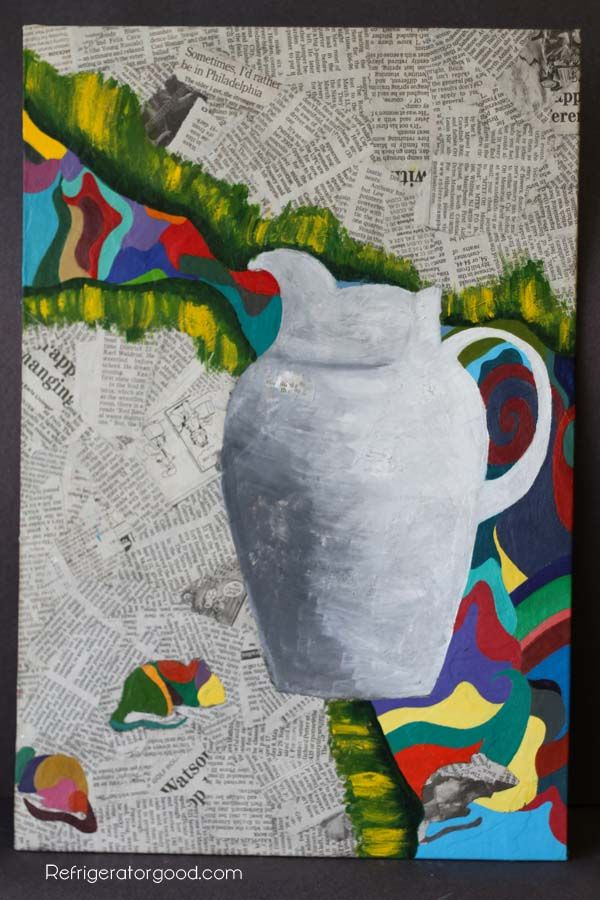 how to make mixed media art projects
