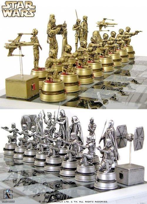 Tabuleiro de xadrez Star Wars