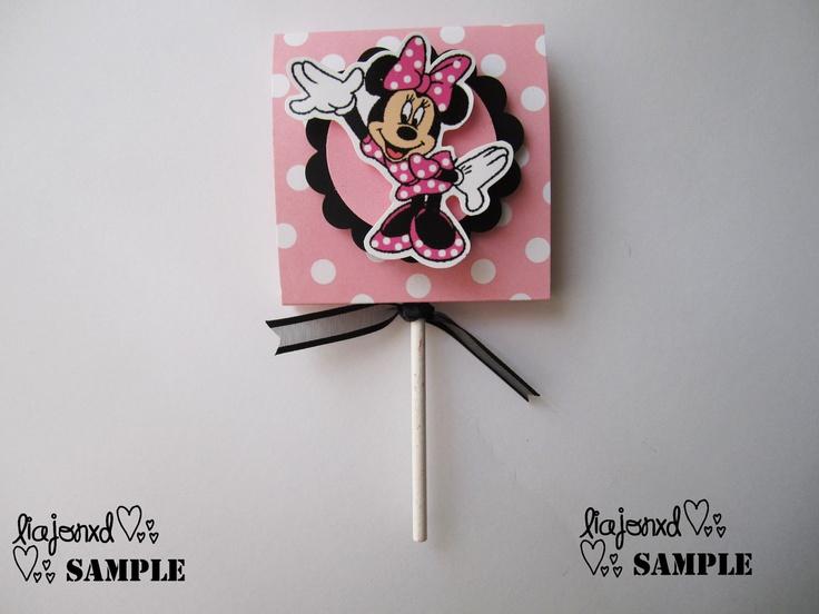 lollipops: Favors Set, Mouse Lollipop, Mickey Mouse, Minnie Party, Minnie Mouse, Candy Favors, Bday Partylollipops, Birthday Party