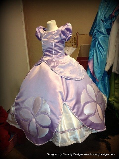 how much to make a princess sofia dress - Google Search