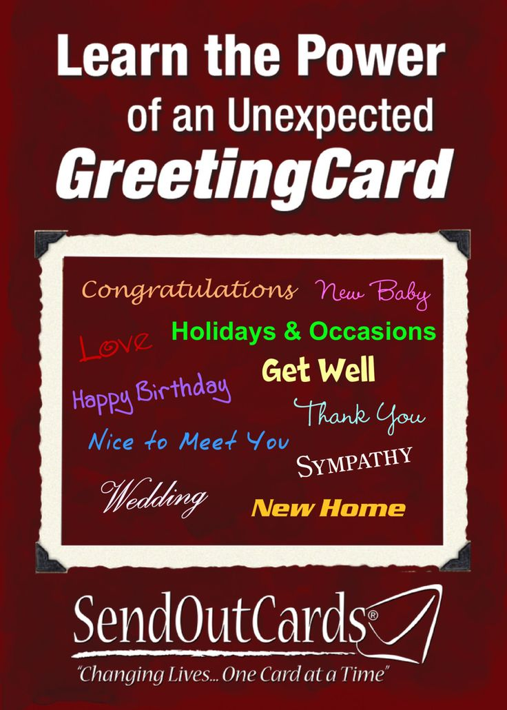 10 best send out cards images on pinterest custom cards glee and joy send them a card for no reason other to say m4hsunfo Image collections