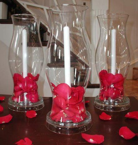 Hurricane Vase 1 Dollar Tree Candlestick Holder To Glue
