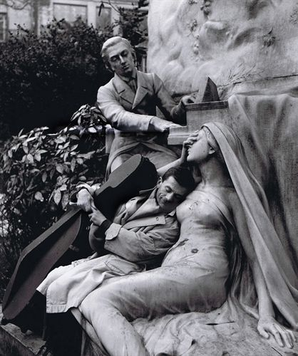 Maurice Baquet, Chopin and his Muse by Robert Doisneau on artnet Auctions
