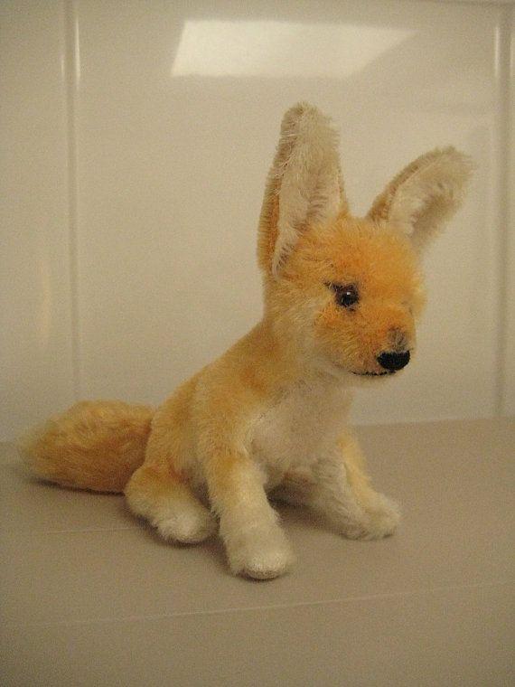 Steiff Vintage Xorry Desert Fox – Born between 1957 and 1970 – Desert Delight!!