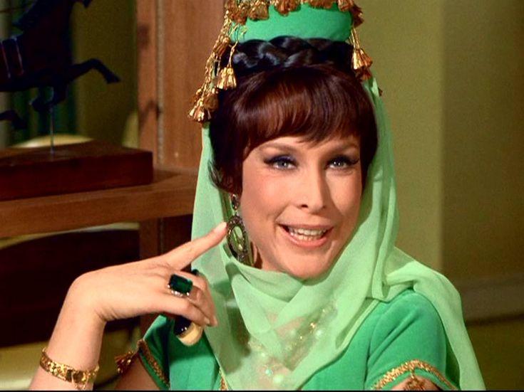 I Dream of Jeannie's Twin Sister