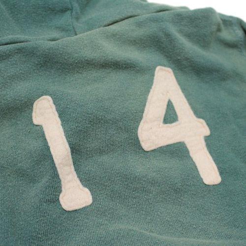 DENIM DUNGAREE(デニム&ダンガリー):ビンテージ裏毛FALCONSパーカー 9KHカーキ の通販【ブランド子供服のミリバール】