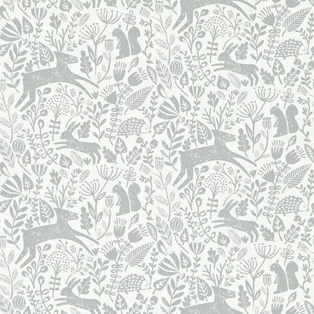 Scion - Kelda Wallpaper - Pewter