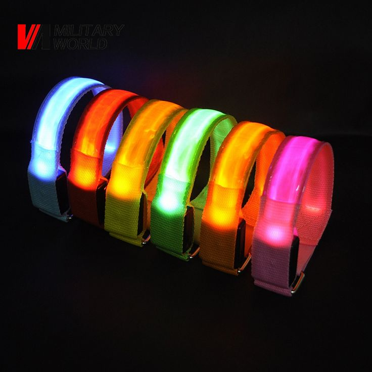 Find More Bicycle Light Information about Luminous Light Up Armband Glow Man LED Waistband Party Camping Ankle Visible Arm Belt Strap Sport Jogging Biking Safety Bands,High Quality shoelaces glow in the dark,China shoe retail Suppliers, Cheap shoe cover from Mlitary World Store on Aliexpress.com