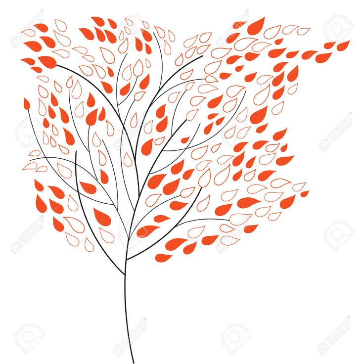 Mixed solid and empty leaves
