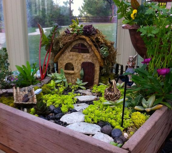 Edible Landscaping And Fairy Gardens