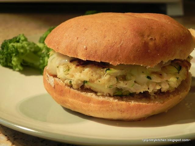 Finding Joy in My Kitchen: Zucchini Burgers
