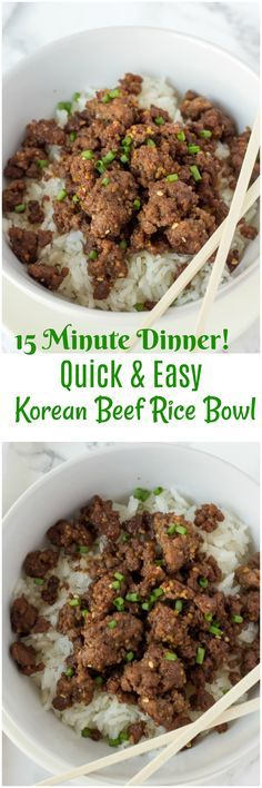 419 best asian food recipes images on pinterest cooking food korean beef rice bowl korean beef recipeseasy beef recipesquick dinner recipesasian forumfinder Images