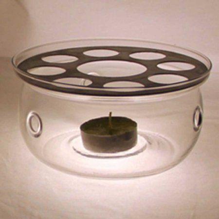 Patch Magic Glass Tea Warmer, Clear